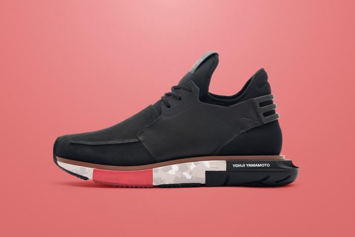 adidas Y-3 Hayex Low Black Red Camo