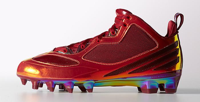 adidas RG3 Cleats Cardinal