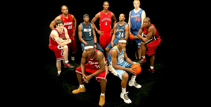 Ranking the Best NBA Draft Classes from a Sneaker Perspective