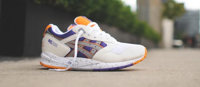 ASICS Gel Saga WhitePurple Orange | Nice Kicks