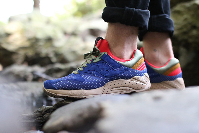 Bodega x Saucony Polka Dot Pack Another Look