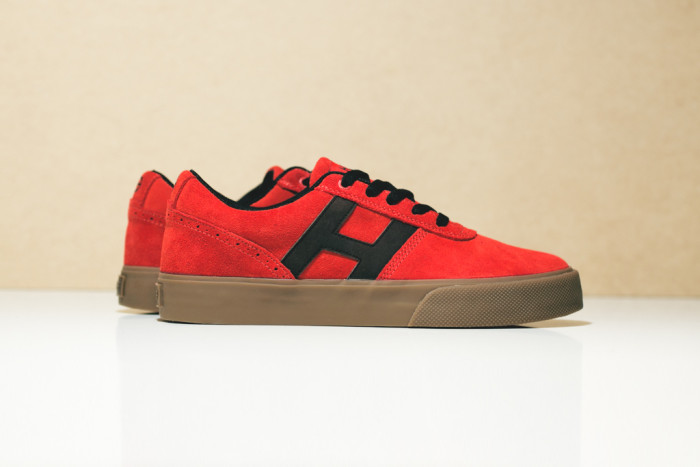 HUF Choice Red Suede