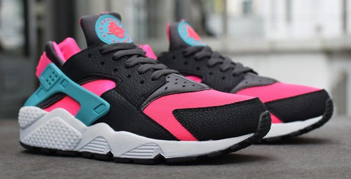 pink huaraches release date