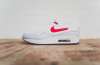 Nike Air Max 1 Leather White University Red