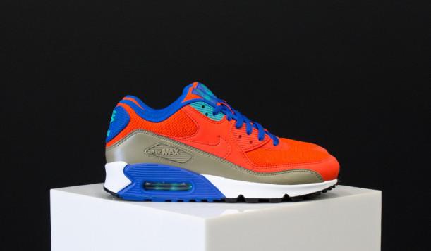 air max 90 essential orange blue