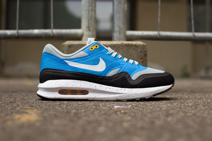 Nike Air Max Lunar1 GreyBlue-Black  Nice Kicks
