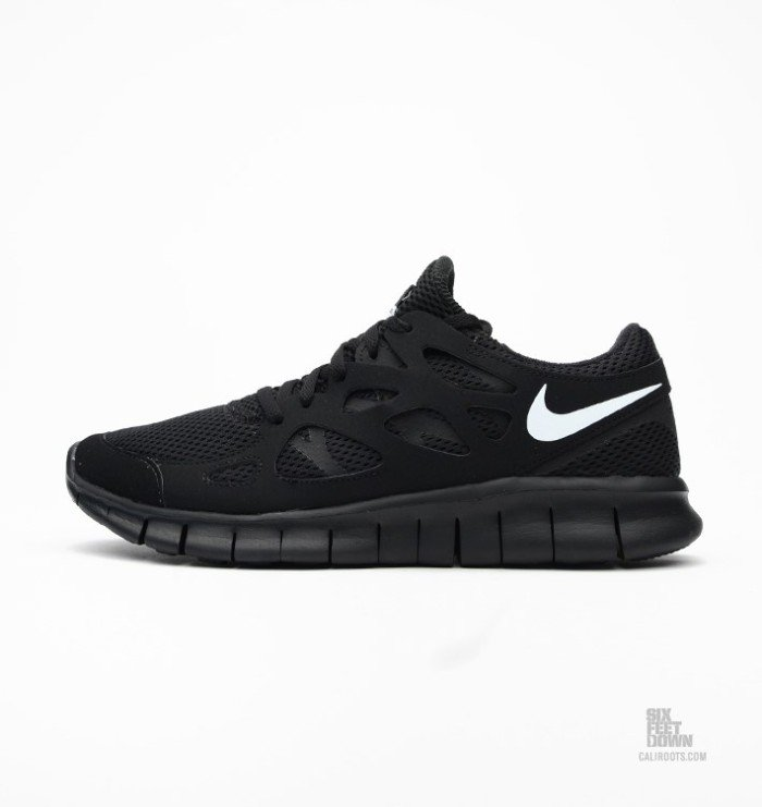Nike Free Run 2 Black/White | Nice Kicks