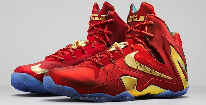Nike-LeBron-11-Elite-Red-Gold-1