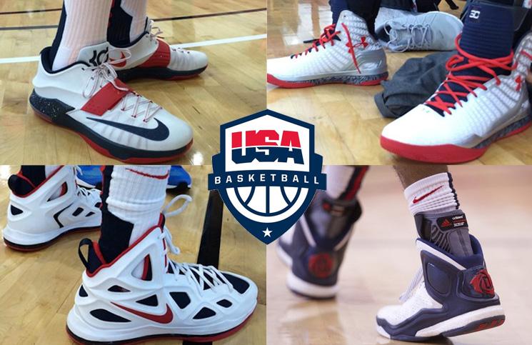 Brand Breakdown: USA Basketball Training Camp 2014 | Nice Kicks