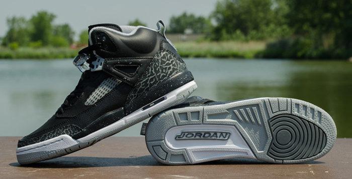 Jordan Spizike GS Black Cool Grey