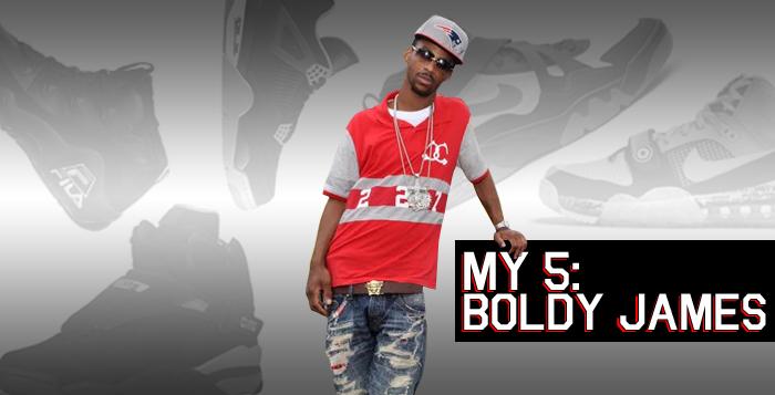 My 5 Boldy James Sneaker Rotation