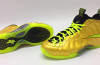 Nike Air Foamposite One Gold Cleats Custom