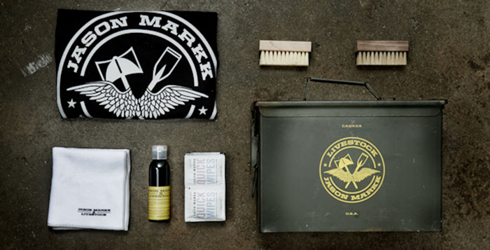 Livestock x Jason Markk Premium Military Sneaker Cleaning Kit