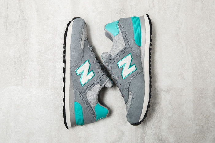 women's grey new balance