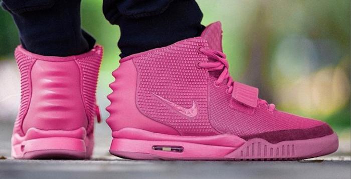 Nike-Air-Yeezy-2-Pink-Custom-1