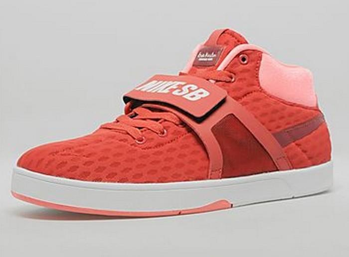 Nike SB Koston Mid R/R Red Clay/Team Red | Nice Kicks