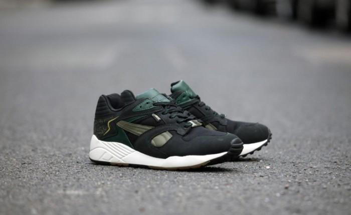 PUMA Trinomic XS850 GTX Black/Green | Nice Kicks