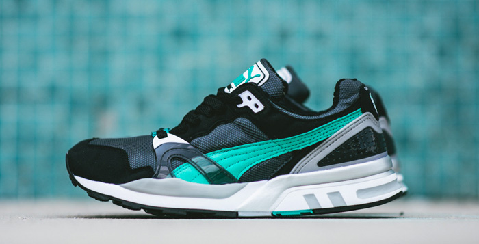 puma trinomic xt2 plus pool green