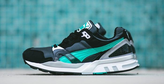 PUMA Trinomic XT2 Plus Turbulence/Black/Pool Green | Nice Kicks