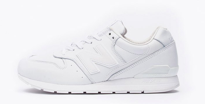 new balance 996 leather white
