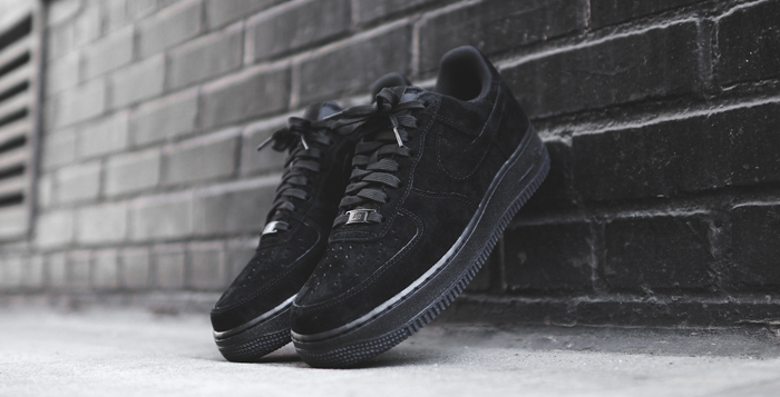 nike air force 1 low all black