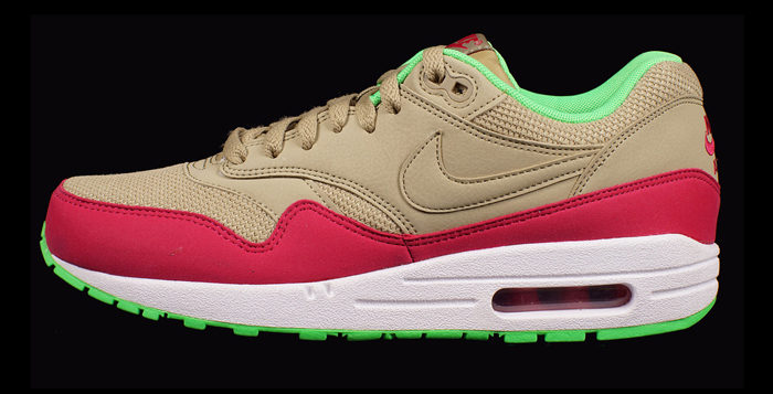 Nike Air Max 1 Essential BambooFuchsia Force Poison Green