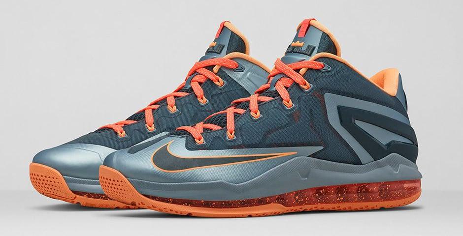 Nike LeBron 11 Low Magnet Grey