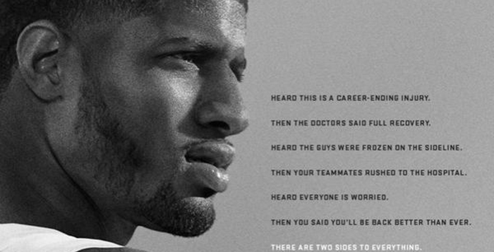 Paul George The Best is Next Nike Ad