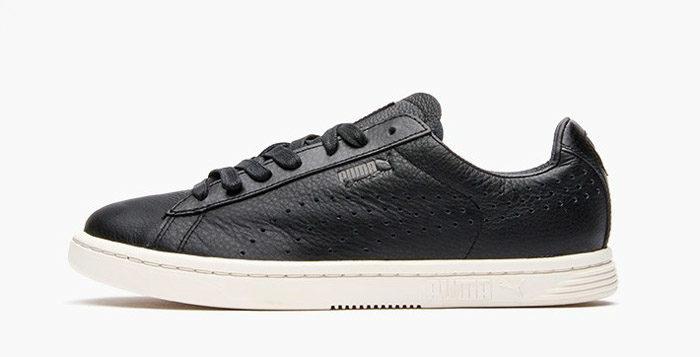 PUMA Court Star Black Leather | Nice Kicks