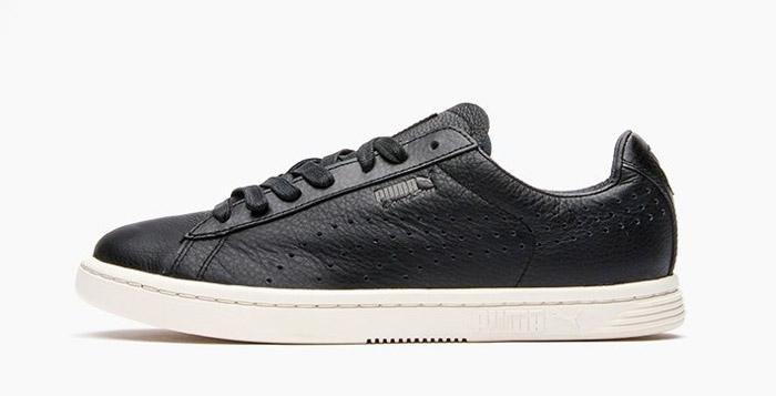 black puma leather