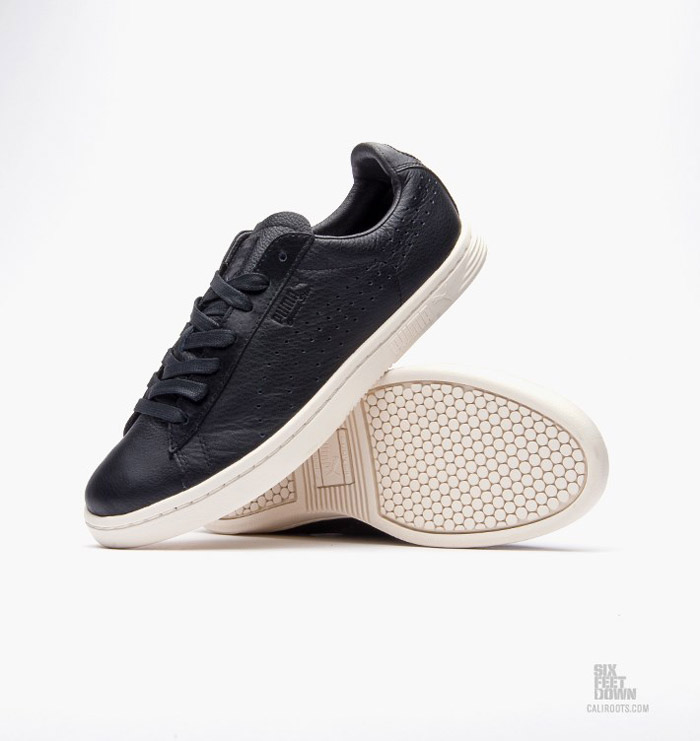 promo code 188c1 e31aa PUMA Court Star Black Leather   Nice Kicks