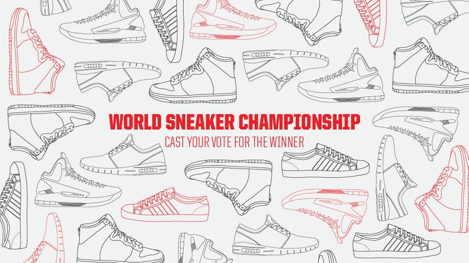 Vote for World Sneaker Championship Winner