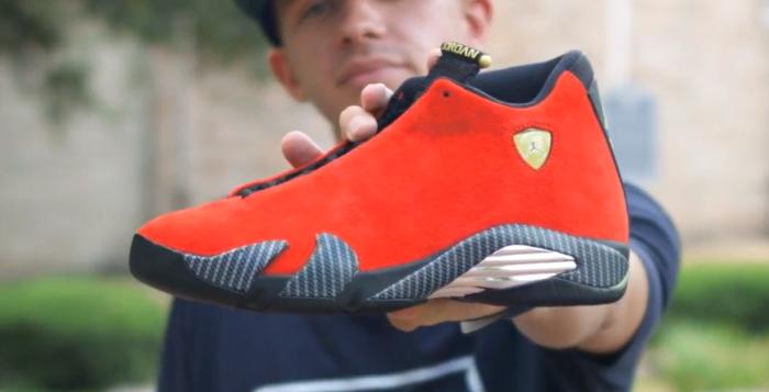 Air-Jordan-14-Ferrari-Video-Preview-Unboxing