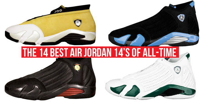 The 14 Best Air Jordan 14s of All-Time