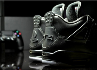 Air Jordan 4 PlayStation 4 Custom