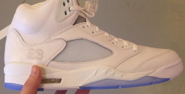 Air Jordan All White 5