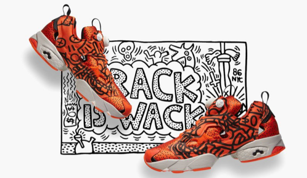 Pump Running Dual X Keith Haring Running Shoes Packed with