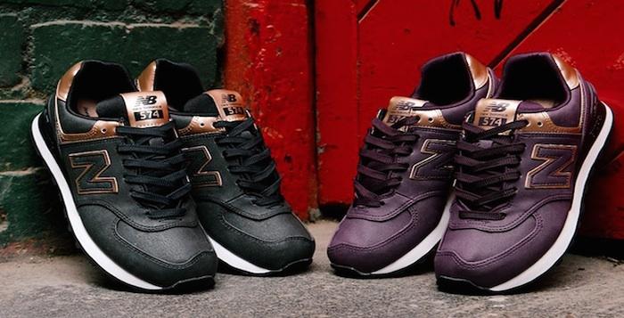 new balance 574 leather premium