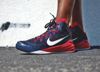 Nike Hyperdunk 2014 Obsidian University Red