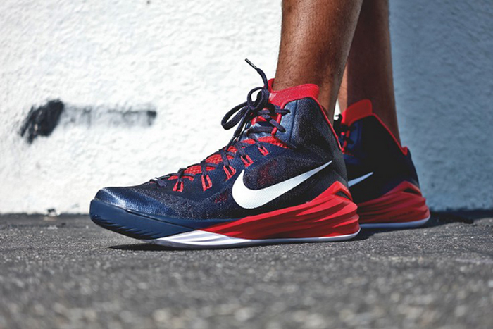 Nike Hyperdunk 2014 Obsidian University Red