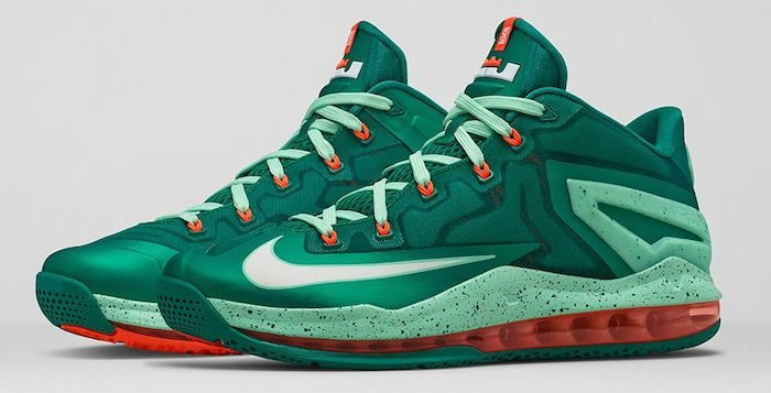 Nike-Lebron-11-Low-Mystic-Green-1