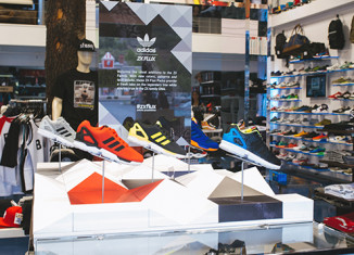 adidas Originals ZX Flux Exhibit at BAIT