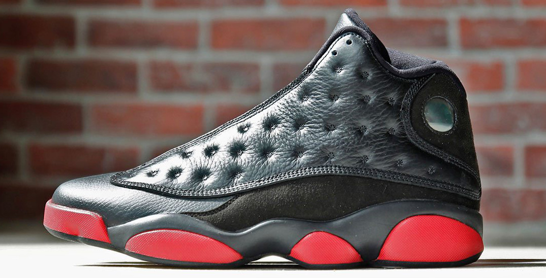 b25bd32a6750 Air Jordan 13 Black Red Leather Another Look