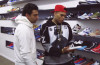 Joe La Puma Goes Sneaker Shopping with Chris Brown