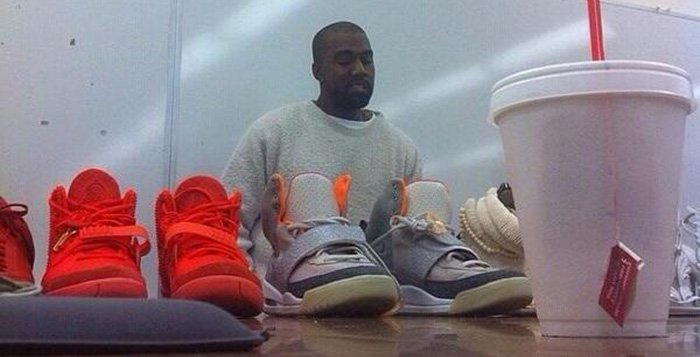 Kanye Brought Out Nike Air Yeezy and Louis Vuitton Designs at Fashion School