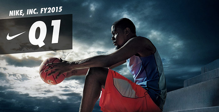 NIKE, Inc. Announces First Quarter Fiscal 2015 Earnings