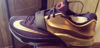 Kevin Durant Unveils New Nike KD 7 Colorway