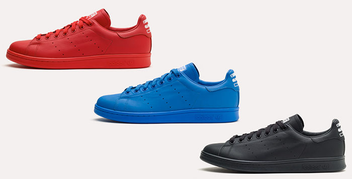 Pharrell Williams x adidas Stan Smith Solids Pack