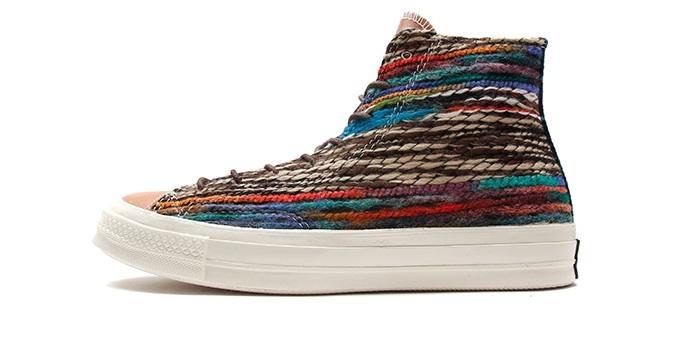 converse all star 1970s woven textile hi twilight nice kicks - All Converse Colors