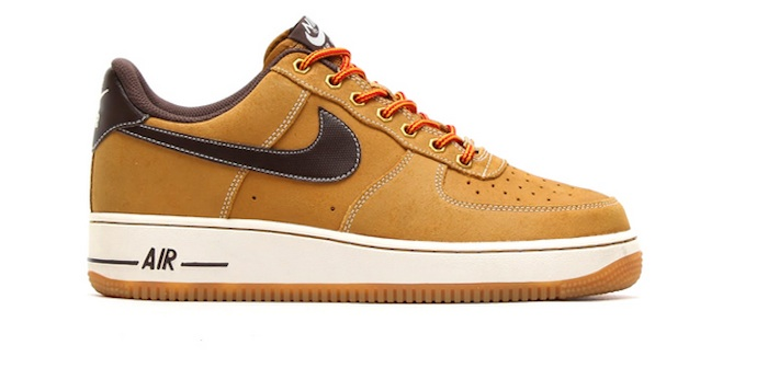 nike air force brown